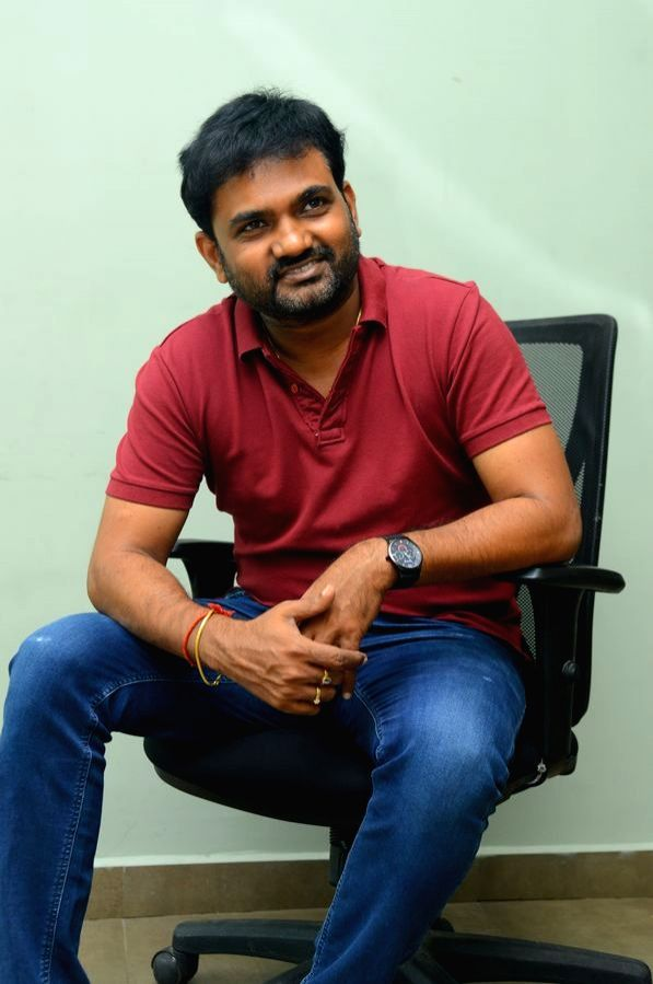 Director Maruthi a interview in Hyderabad.