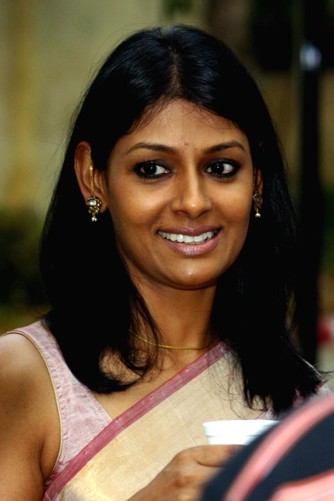 "Director Nandita Das during a Press-meet for promotion her film ""FIRAAQ"" in New Delhi on Monday 16 March 2009."