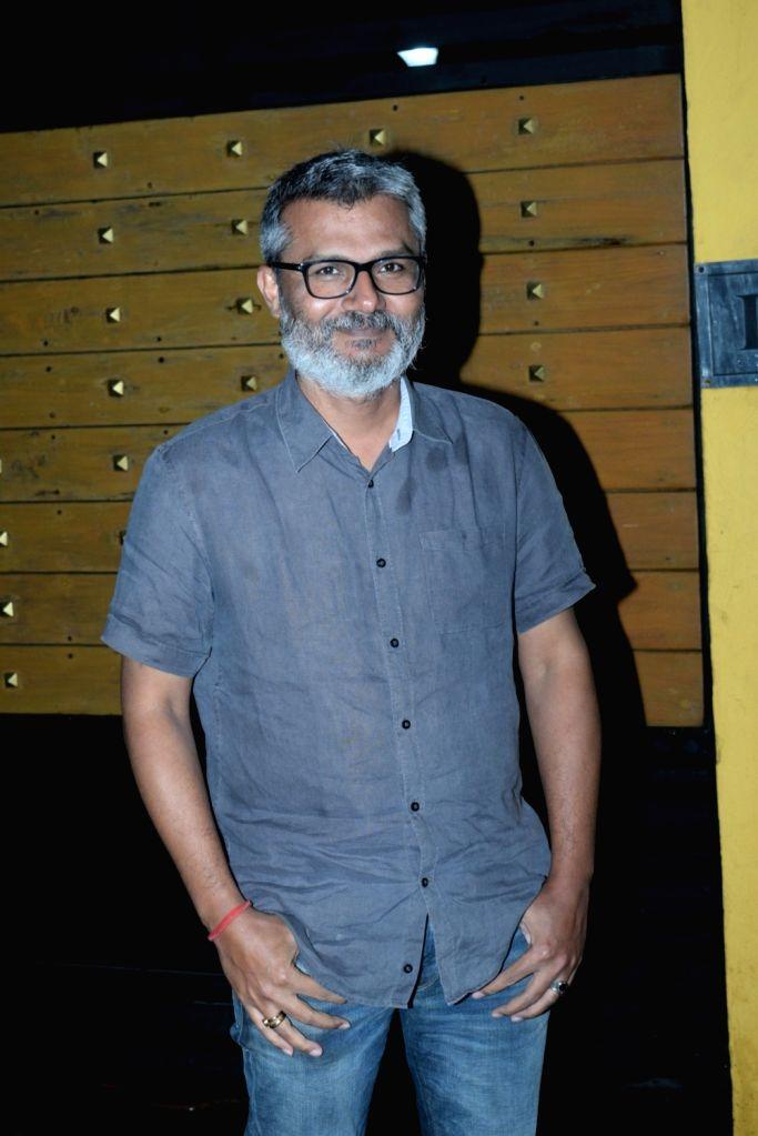 """Director Nitesh Tiwari at the screening of his upcoming film """"Chhichhore"""" in Mumbai, on Sep 4, 2019."""