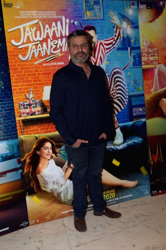 "Director Nitin Kakkar  during the media interactions for his upcoming film ""Jawaani Jaaneman"" in Mumbai on Jan 9, 2020."