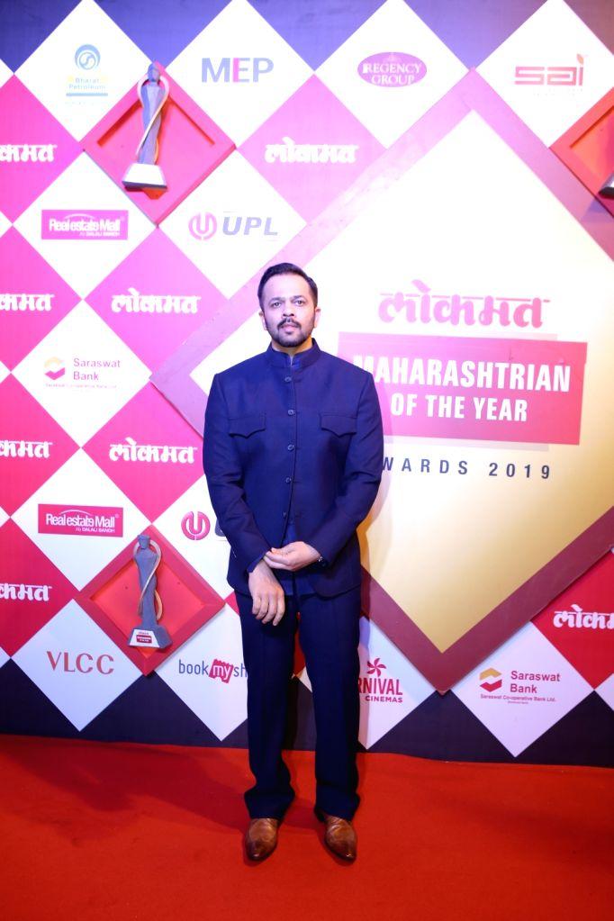 Director Rohit Shetty at Lokmat Maharashtrian of the Year Awards 2019 in Mumbai, on Feb 20, 2019. - Rohit Shetty