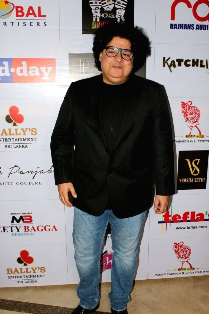"Director Sajid Khan at ""Page3 Fashion & Lifestyle Awards"" in Mumbai on Sept 15, 2017. - Sajid Khan"