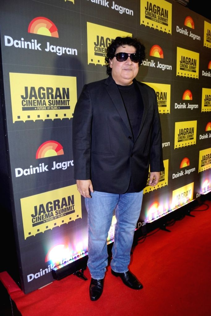 "Director Sajid Khan during the ""Jagran Cinema Host Summit"" to Discuss Future of Film in Mumbai on Sept 15, 2017. - Sajid Khan"