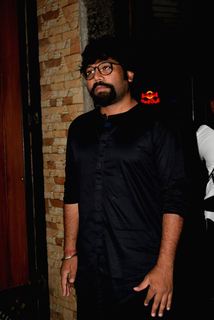 "Director Sandeep Reddy Vanga at the wrap up party of his upcoming film ""Kabir Singh"" in Mumbai, on April 11, 2019. - Sandeep Reddy Vanga and Kabir Singh"