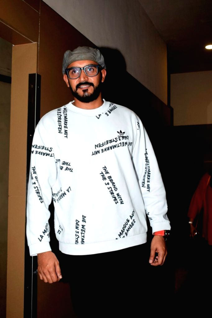 "Director Shashank Khaitan at the special screening of his upcoming film ""Dhadak"" in Mumbai on July 14, 2018."