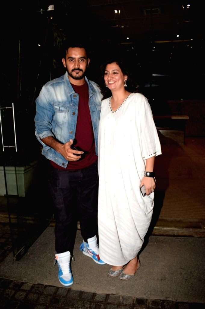 "Director Shashank Khaitan at the special screening of film ""Dhadak"" in Mumbai on July 19, 2018."