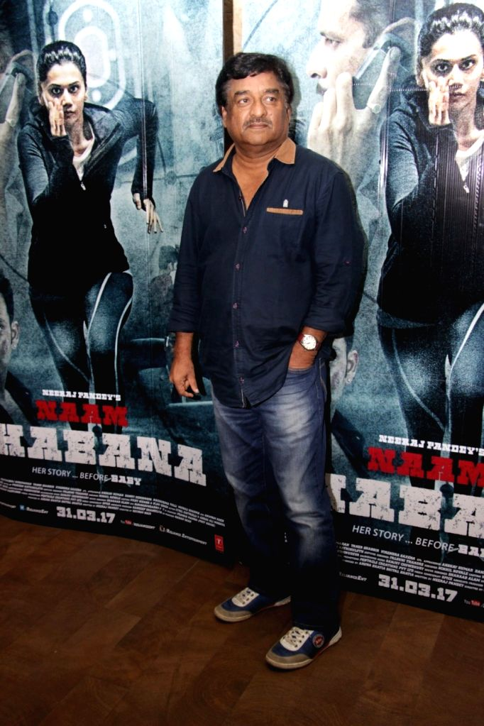Director Shivam Nair during the song launch Zinda from film Naam Shabana in Mumbai on March 10, 2017.