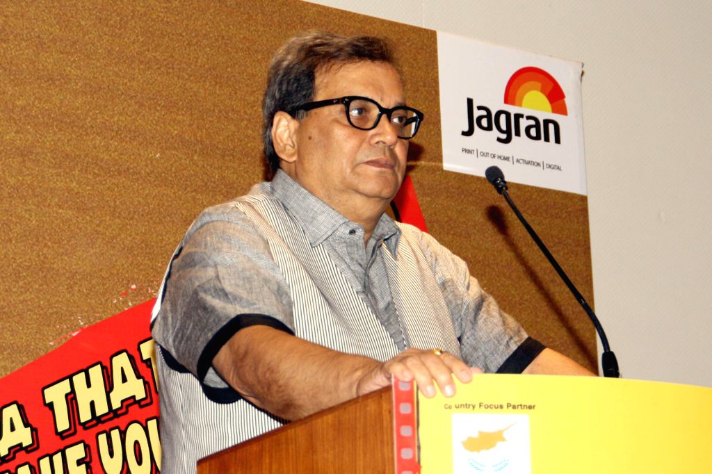 Director Subhash Ghai at the inanugural of 5th Jagran Film Festival, in New Delhi on July 5, 2014.