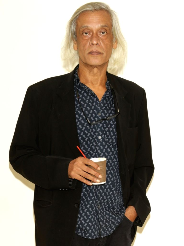 "Director Sudhir Mishra during a press conference to promote his upcoming film ""Daas Dev"", in New Delhi on April 14, 2018. - Sudhir Mishra and Daas Dev"