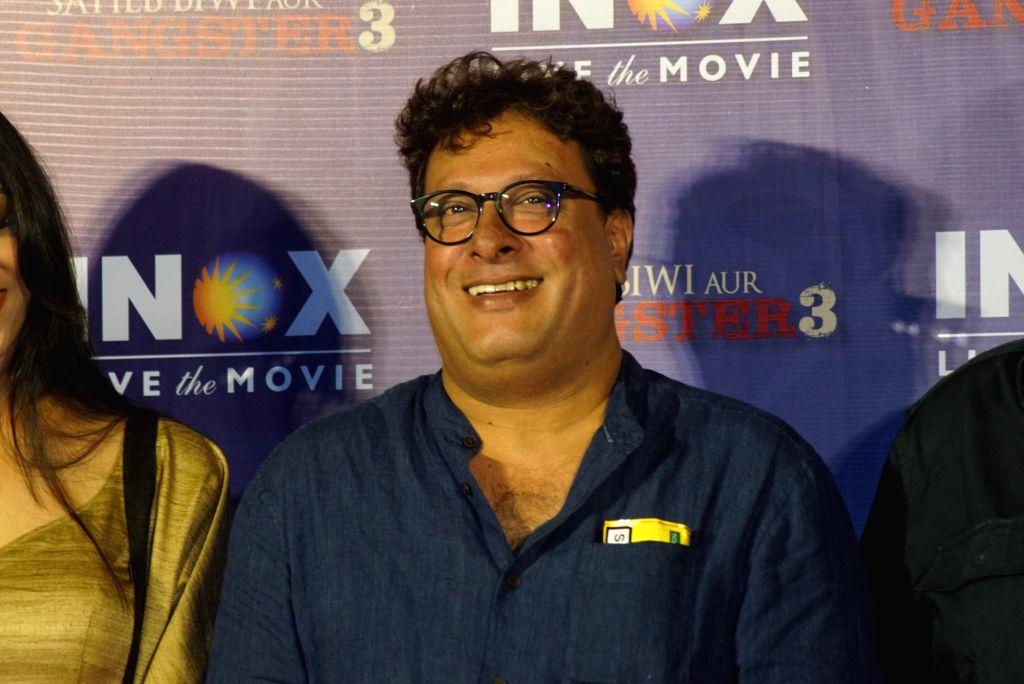"Director Tigmanshu Dhulia at the promotion of his upcoming film ""Saheb Biwi Aur Gangster 3"" in Mumbai on July 23, 2018."