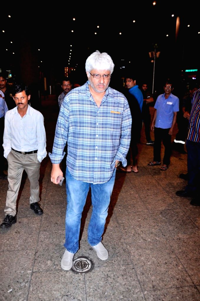 Director Vikram Bhatt spotted at Airport in Mumbai on June 28, 2016.