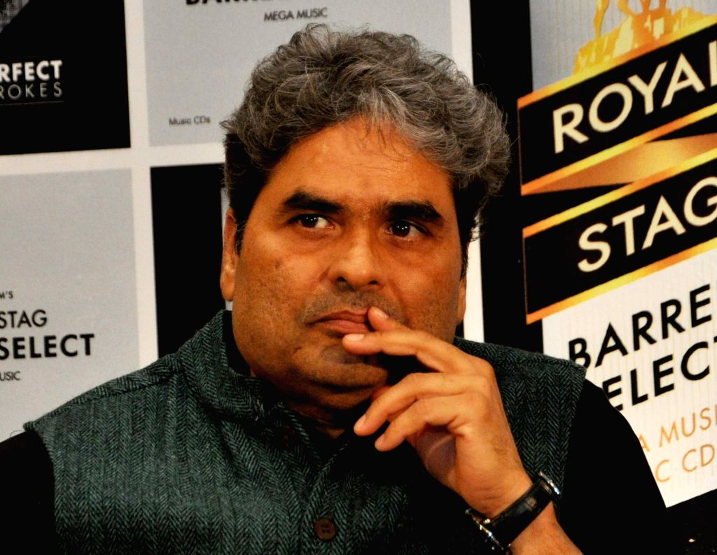 Director Vishal Bhardwaj during a promotional programme in Kolkata on Nov 25, 2016. - Vishal Bhardwaj