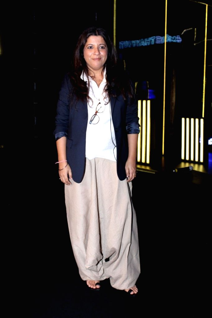 """Director Zoya Akhtar during the """"Blenders Pride Fashion Tour 2017"""" in Mumbai on Oct 5, 2017."""