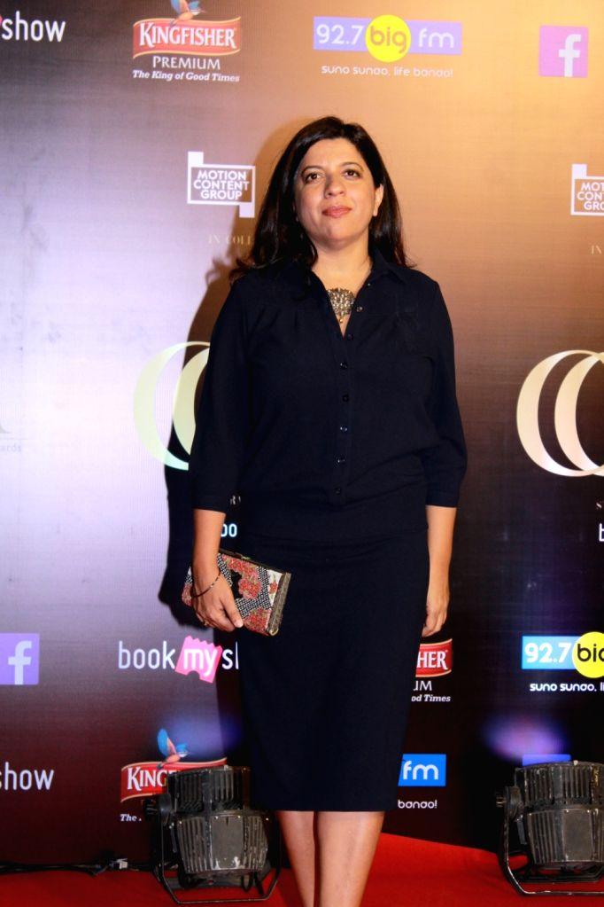 Director Zoya Akhtar on the red carpet of Critics' Choice Film Awards 2019, in Mumbai, on April 21, 2019.