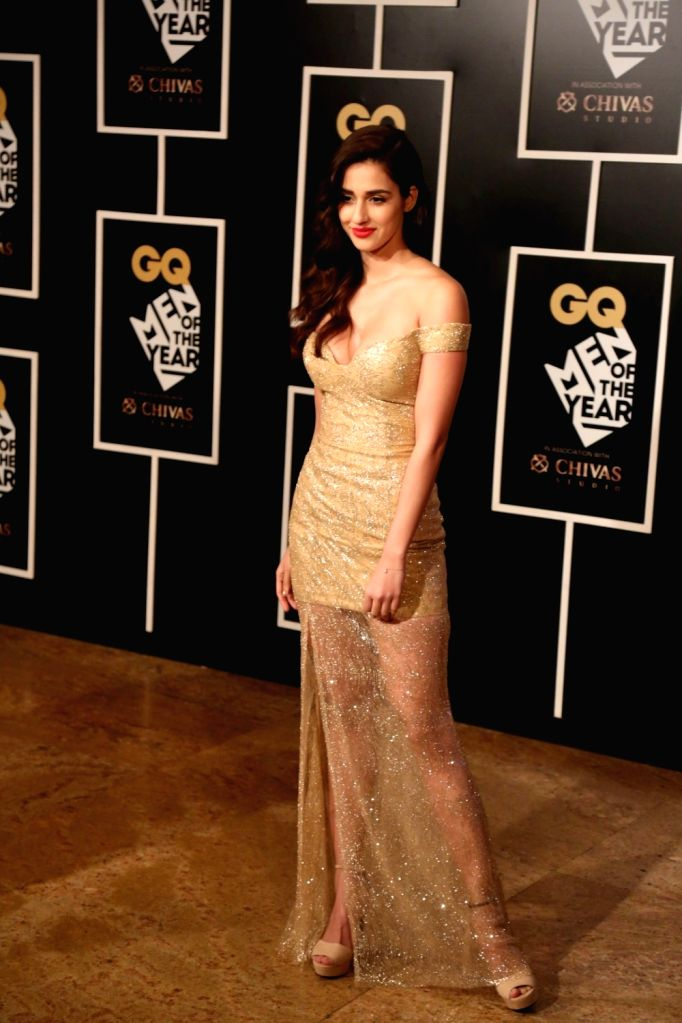 Disha Patani during the GQ India Men of the year Award 2016 ceremony, in Mumbai, on Sept 27, 2016.
