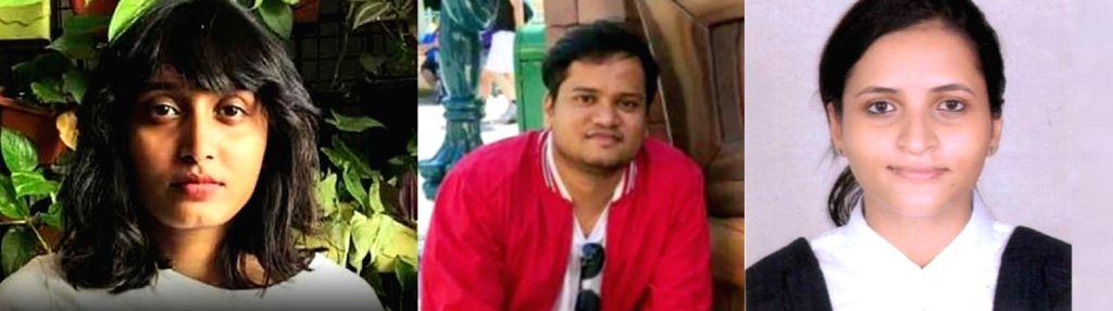 Disha Ravi, Shantanu Muluk and Nikita Jacob.