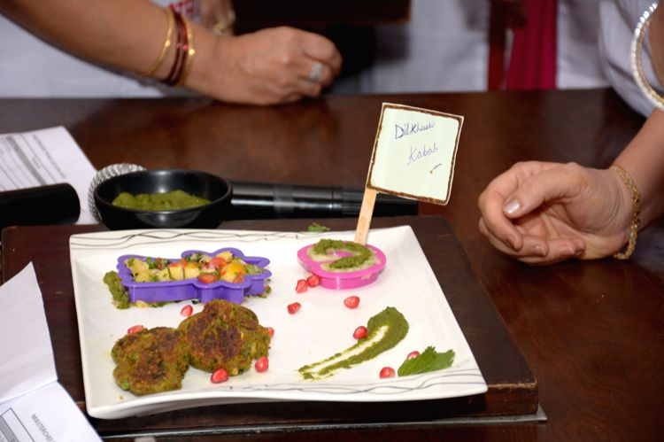 Dishes prepared by gynecologists at Master Chef Competition.