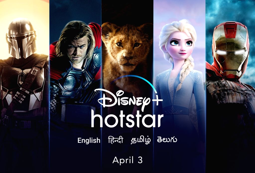 Disney+ will launch in India on April 3.