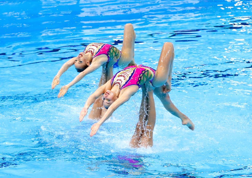 Diving, artistic swimming Oly qualifying events postponed.