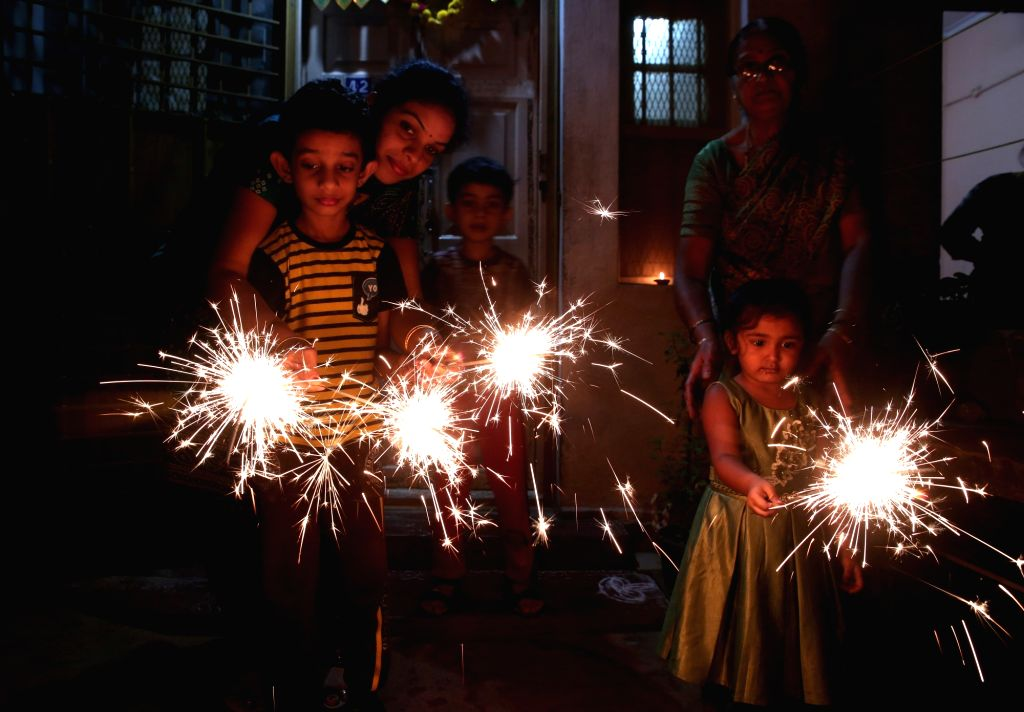 Diwali celebrations continue in Bengaluru on Oct 28, 2019.
