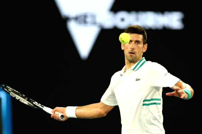 Djokovic dismantles Medvedev to win 9th Australian Open.(Credit: Australian Open)