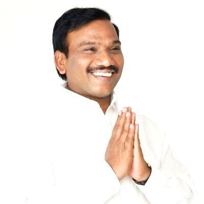 DMK leader A Raja . (Credit : @dmk_raja/twitter)