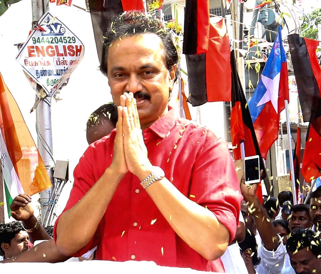 DMK leader M.K. Stalin. (File Photo: IANS)
