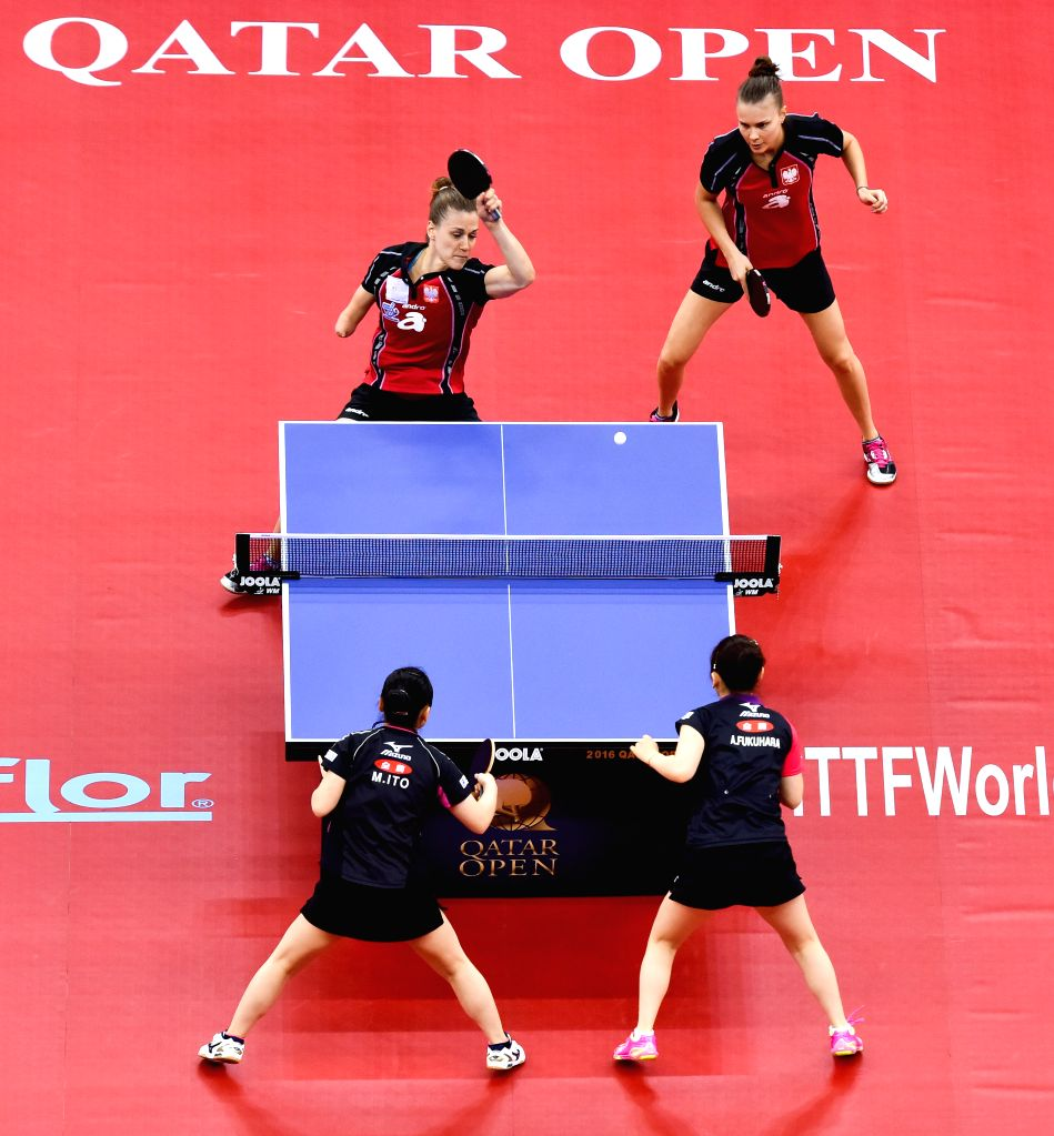Stupendous Qatar Doha Table Tennis Ittf World Tour Home Interior And Landscaping Ologienasavecom