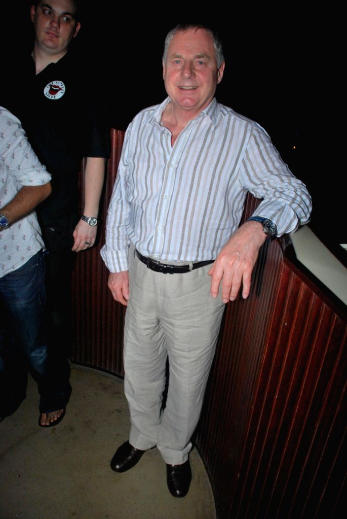Don Ward at the Comedy Store Tour in Mumbai.