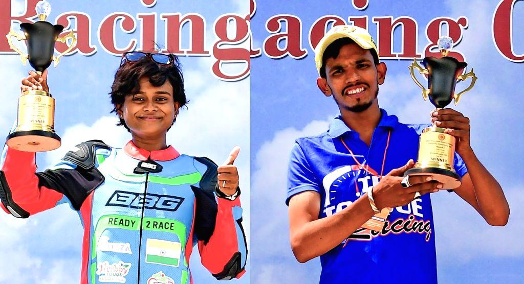 Double for Bengaluru rider Mohd Rafiq; Soundari tops in Girls category