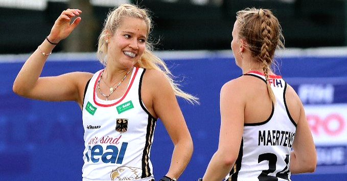 Double joy for Germany against Belgium in FIH Pro Hockey League.