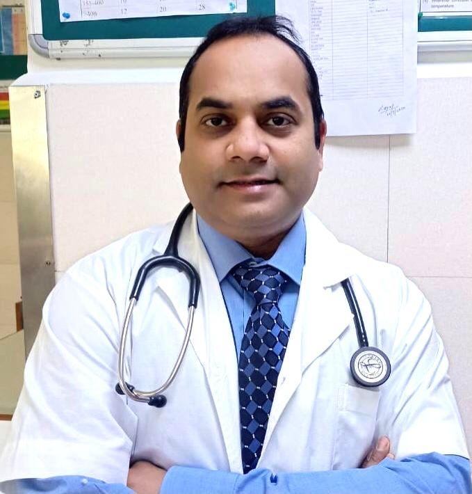 Dr Ashish Jaiswal.