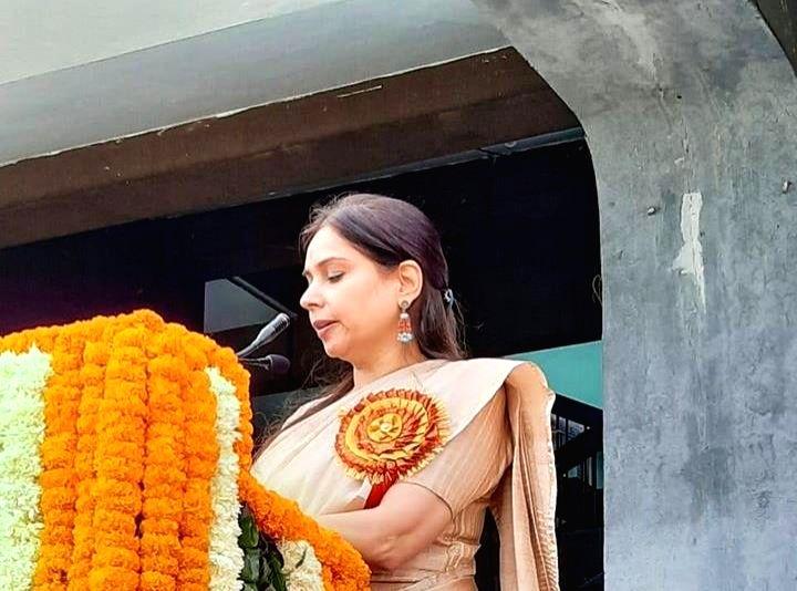 Dr. Nandini Sharma. (Photo: twitter@DrNandiniBJP) - Nandini Sharma