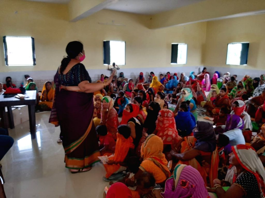 Dr. Sangeeta empowers women.
