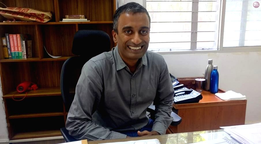 Dr Sudhir Krishnaswamy, Vice Chancellor of the National Law School of India University in Bengaluru.