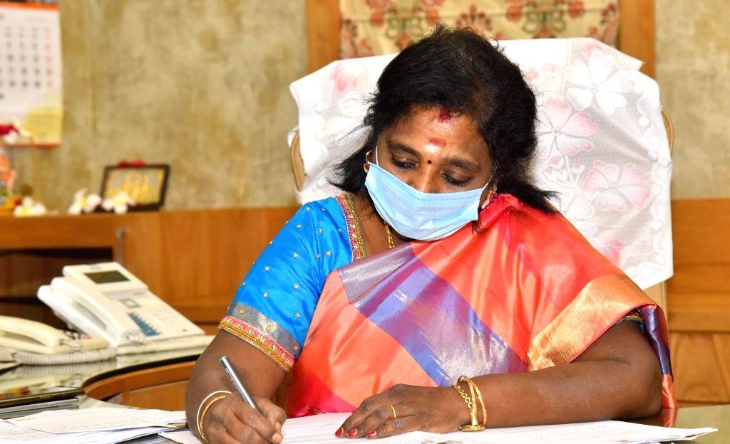 Dr Tamilisai Soundararajan. (Photo: twitter@DrTamilisaiGuv)