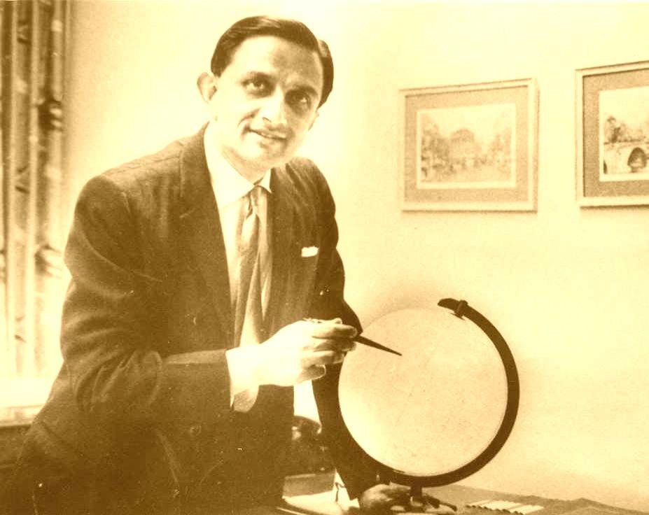 Dr. Vikram A Sarabhai. (File Photo: ISRO/IANS)
