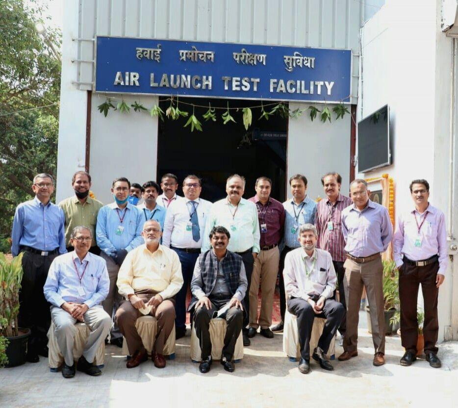 DRDO chairman inaugurates air launch test facility in Vizag.