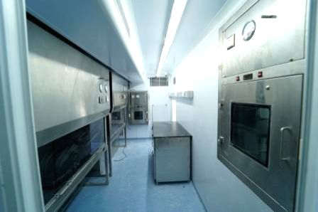 DRDO sets up mobile viral research lab to speed up Covid-19 screening.