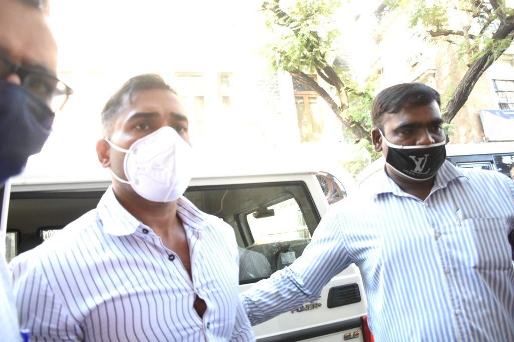 Drugs case: NCB arrests  Maha minister's son-in-law Sameer Khan, Karan Sajnani and Rahila Furniturewala on January 14, 2021. - Sameer Khan