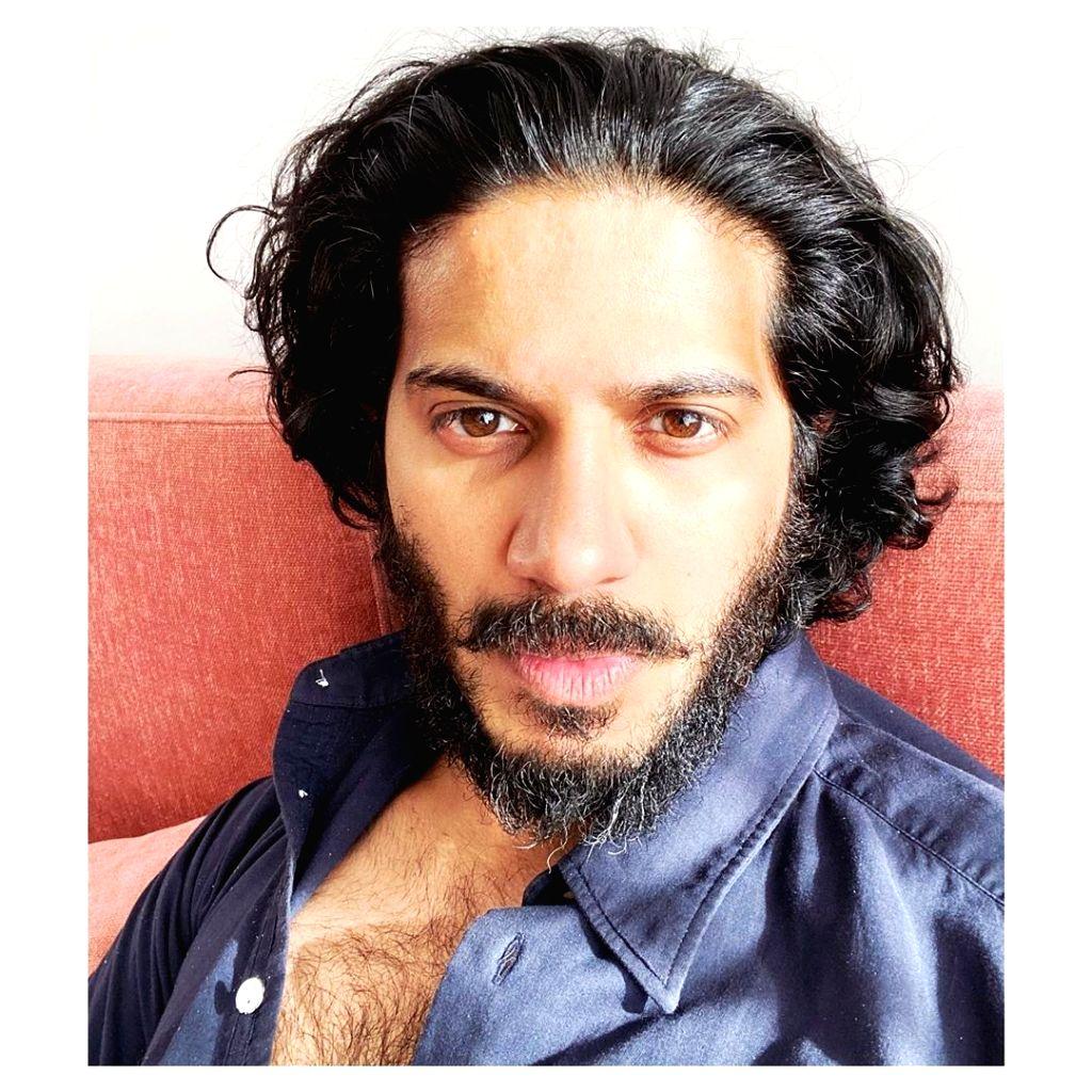 Dulquer Salmaan flaunts his bearded look.