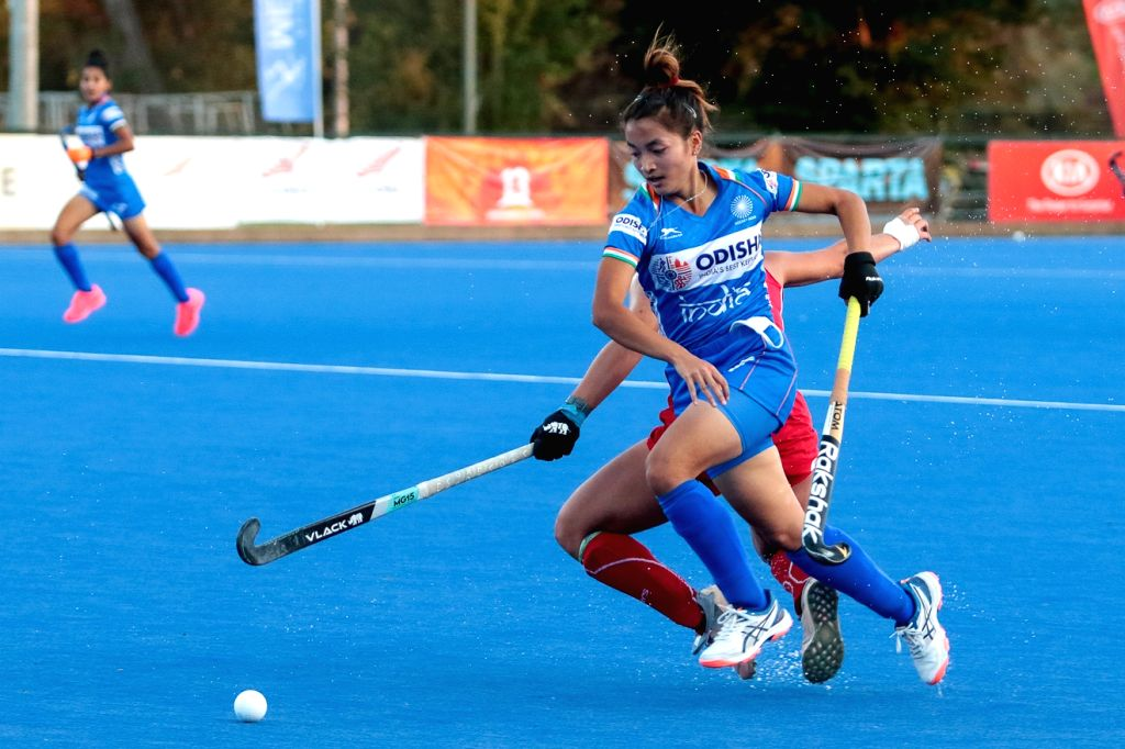 Dungdung's hat-trick helps India junior eves beat Chile.