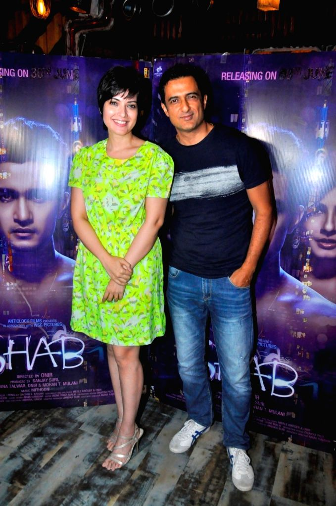 during the interview with 'Shab' film actor Ashish Bisht For her upcomming Film Shab - Ashish Bisht For