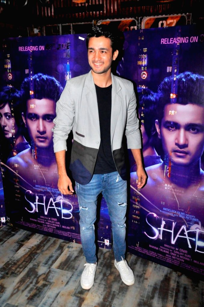 during the interview with 'Shab' film actor Sanjay Suri, actor Ashish Bisht & actress Arpita Chatterjee For her upcomming Film Shab - Sanjay Suri and Arpita Chatterjee For