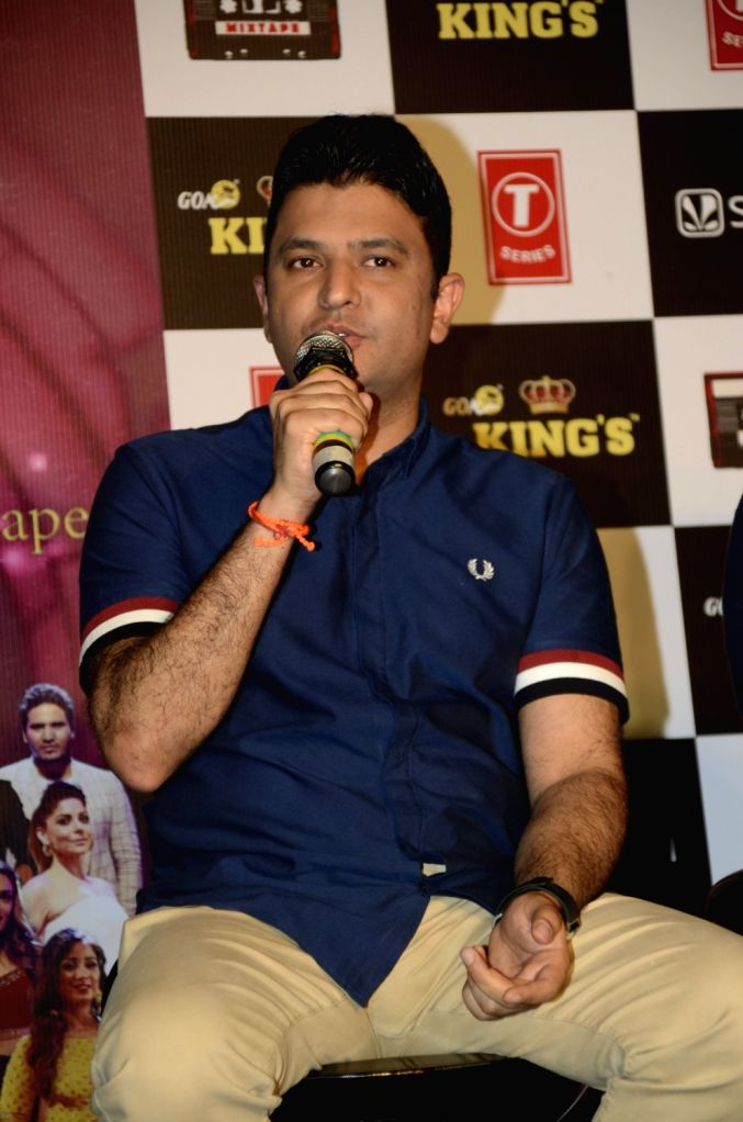 during the launch of 'Mixtape' by T-Series' in Mumbai 21 June 2017