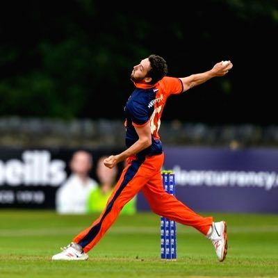 Dutch cricketer works as food delivery guy to make ends meet