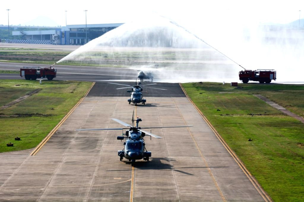 Eastern Naval Command inducts ALH Mk III helicopter