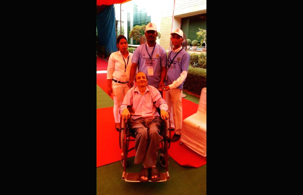 ECI's first of its kind initiatives for handicapped people.