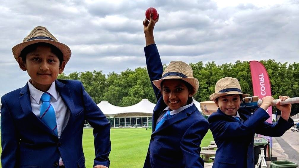 Edgbaston turned blue on Sunday as the ICC Cricket for Good, in partnership with UNICEF, delivered the pinnacle event of the tournament, the 'One Day for Children campaign, with a special celebration at the England versus India World Cup m