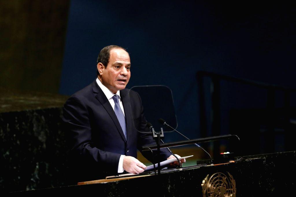 Egyptian President Abdel-Fattah al-Sisi  (Xinhua/Li Muzi/IANS)